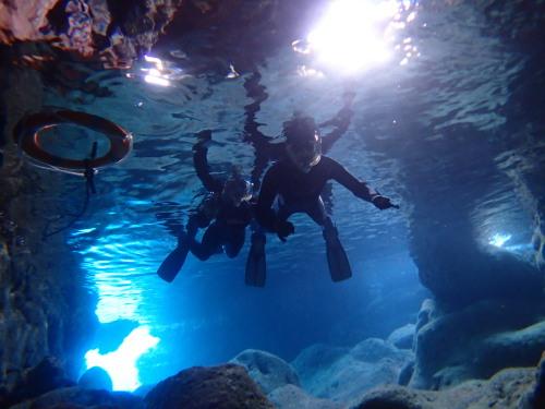 宮古島 青の洞窟