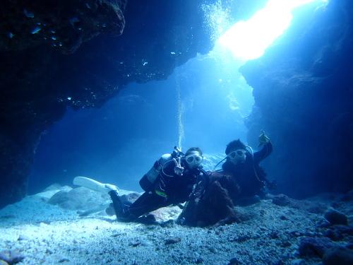 宮古島地形体験ダイビング