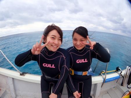 宮古島のとなり伊良部島半日ボート体験ダイビング