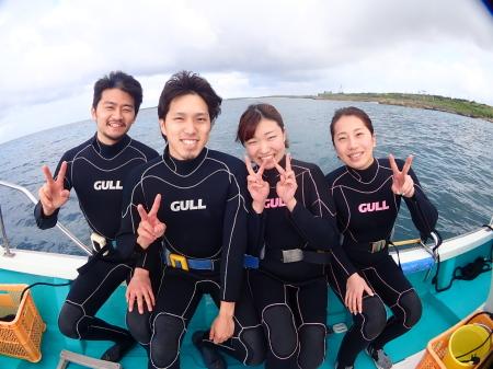 ボート体験ダイビング~。