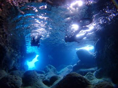 伊良部島青の洞窟、数日はベストコンディション。