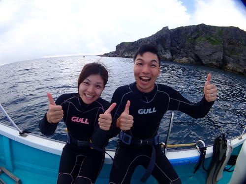 青の洞窟へLet's Go!2018.8.4