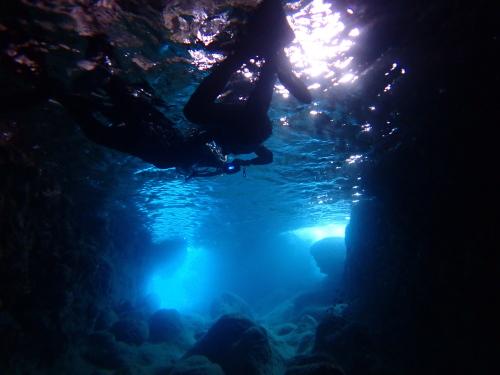 青の洞窟ツアー開催してきましたよ~ 2018.9.4