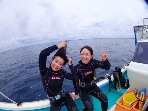 伊良部島で地形体験ダイビング 2018.9.7