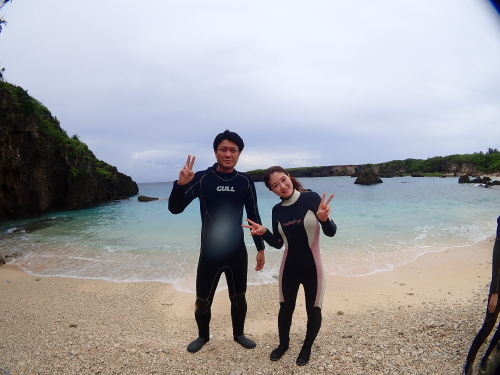 伊良部島でビーチダイビング~ 2018.9.11