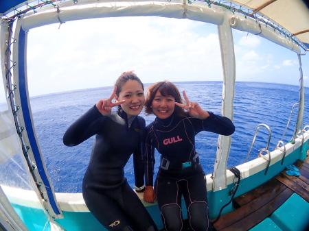 宮古島2ボート体験ダイビングは午前がオススメ!
