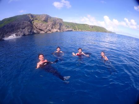 台風とダイビング、そして、サンゴのお話。