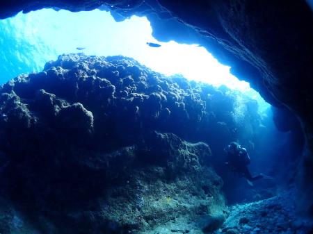 地形 クレパス ダイビング