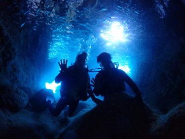 宮古島青の洞窟シーズン、始まっています!